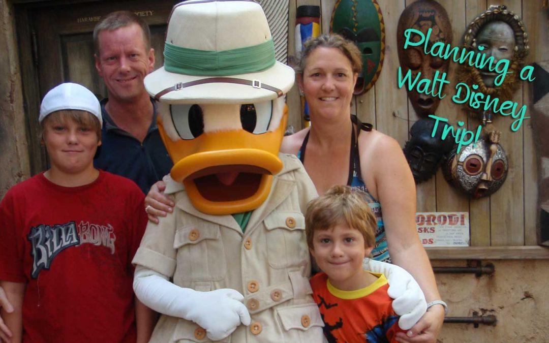 Planning a Walt Disney Trip
